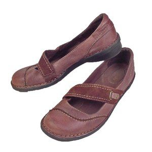 CLARKS Bendables Womens 8.5 M Brown Mary Janes